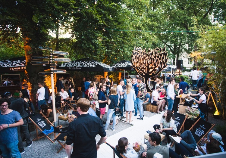 Fever-Tree Mixers Market in Hamburg 1 uns 2 Juni 2019