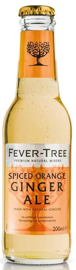 Neu: Fever-Tree Premium Spiced Orange Ginger Ale