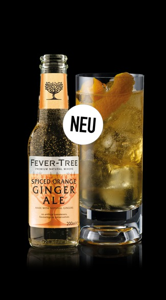 Neu: Fever-Tree Spiced Orange Ginge Ale
